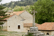El santuario de Sant Joan de Penyagolosa.