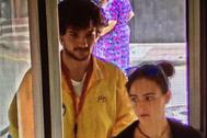 Marc Hernández y Paula Mas, las dos víctimas del crimen de Susqueda.