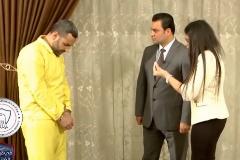 Momento del 'cara a cara' entre la víctima del IS y su verdugo.