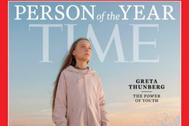 Portada de la revista con Greta Thunberg como 'Persona del año'.