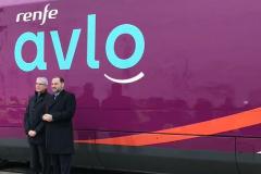 El primer AVE low cost llegará en abril