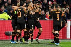 Champions League - Group H - <HIT>Ajax</HIT> Amsterdam v <HIT>Valencia</HIT>