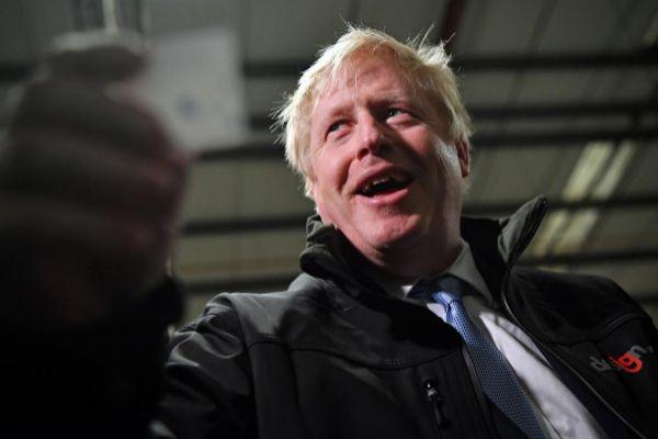 El primer ministro británico, Boris Johnson, es favorito en las...