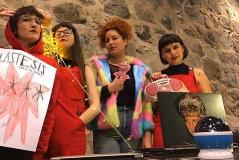 Las cuatro chilenas de 'El violador eres tú'