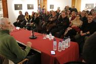 La Llotja del Cànem de la UJI acogió este miércoles la presentación de los dos libros sobre Oriol Junqueras.