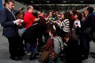 La ministra de Transición Ecológica, Teresa Ribera, rodada de periodistas en la COP25