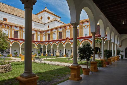 Interior del Monasterio de la Consolación en Utrera, Sevilla.