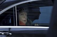 La canciller alemana, Angela Merkel, llega a la cumbre del Consejo Europeo, en Bruselas.