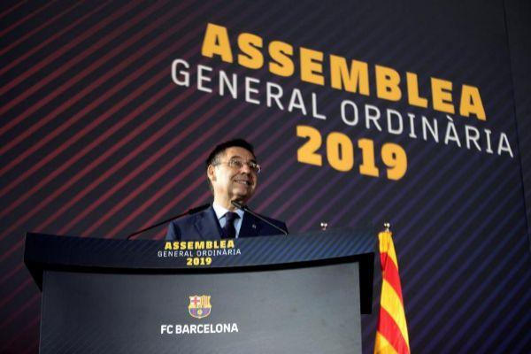 El presidente del FC Barcelona, Josep María Bartomeu