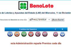 El hombre ganó 6,5 millones de euros en la Bonoloto.