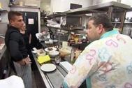 Alberto Chicote se enfrenta a Salvo del restaurante Reina Mariana en Pesadilla en la cocina.