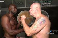 Así fue el debut como boxeador de Alfredo Duro en El Chiringuito de Jugones