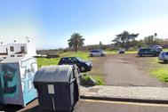 Un descampado en la calle Mayber de La Laguna, en Tenerife.