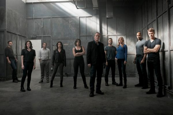 Protagonistas de 'Agentes de SHIELD'.