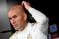 """Zidane ante las amenazas del clásico: """"No hablamos de eso en el vestuario"""""""