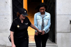Ana Julia Quezada ingresa en la cárcel  donde cumple condena  Urdangarin