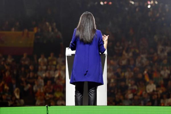 La presidenta de Vox en la Comunidad de Madrid, Roc