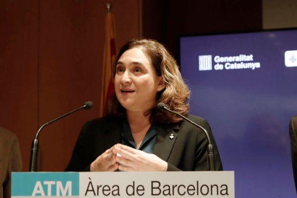 SANTI COGOLLUDO 04.12.2019 Barcelona, Catalunya La alcaldesa de...