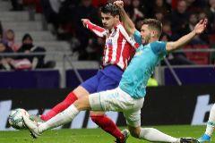 Morata y Saúl resuelven ante Osasuna