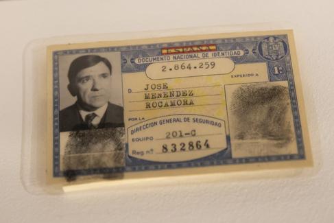 Bernardo Díaz. 04/12/2019. Madrid. Exposición 'El <HIT>DNI</HIT> y los españoles. 75 años de historia común (1944-2019)' En el Museo de la Casa de la Moneda