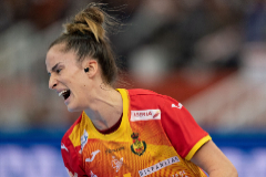 Kumamoto (Japan).- Nerea Pena Abaurrea of <HIT>Spain</HIT> reacts during the IHF Women's World Championship final match between <HIT>Spain</HIT> and the Netherlands in Kumamoto, Japan, 15 December 2019. (Balonmano, Japón, Países Bajos; Holanda, España) EPA/