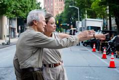 """Clinte Eastwood en una escena del rodaje de Richard Jewell, su última película, por la que le han acusado de """"machista""""."""