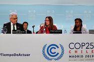 Carolina Schmidt, ministra chilena del ramo y presidenta de la cumbre del clima COP25.