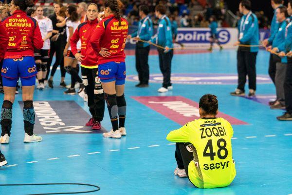 Kumamoto (Japan).- Darly Zoqbi de Paula of Spain reacts after losing...