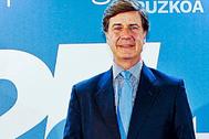 Cayetano Martínez de Irujo, en San Sebastian.