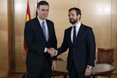 """Casado reitera su """"no"""": """"Nadie entendería que facilite un Gobierno comunista con Podemos"""""""