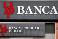 Una sucursal de Banca Popolare di Bari, en Roma.