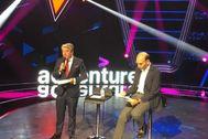 El director de Accenture en España, Juan Pedro Moreno, durante la presentación.