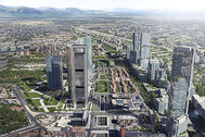 Recreación del proyecto 'Madrid Nuevo Norte'.