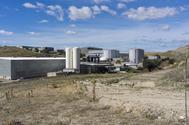 Vista de la planta de residuos de Valdemingómez.
