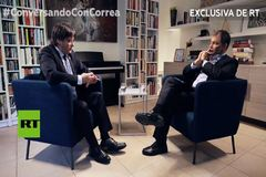 """La televisión  rusa celebra el  'hackeo' """"hermoso"""" a TVE con la entrevista a Puigdemont"""