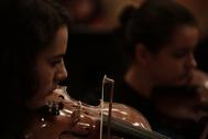 La Joven Orquesta de la Comunidad de Madrid.