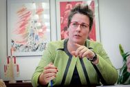 María José Mira, secretaria autonómica de Hacienda y presidenta de Parc Sagunt