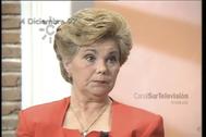 Fotograma de la entrevista que concedió Ana Orantes a Canal Sur antes de ser asesinada por su ex marido.