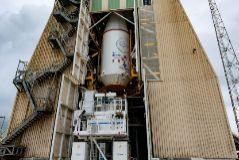 Parte del cohete Soyuz que despegará de Guayana Francesa, donde se ha detectado el fallo.
