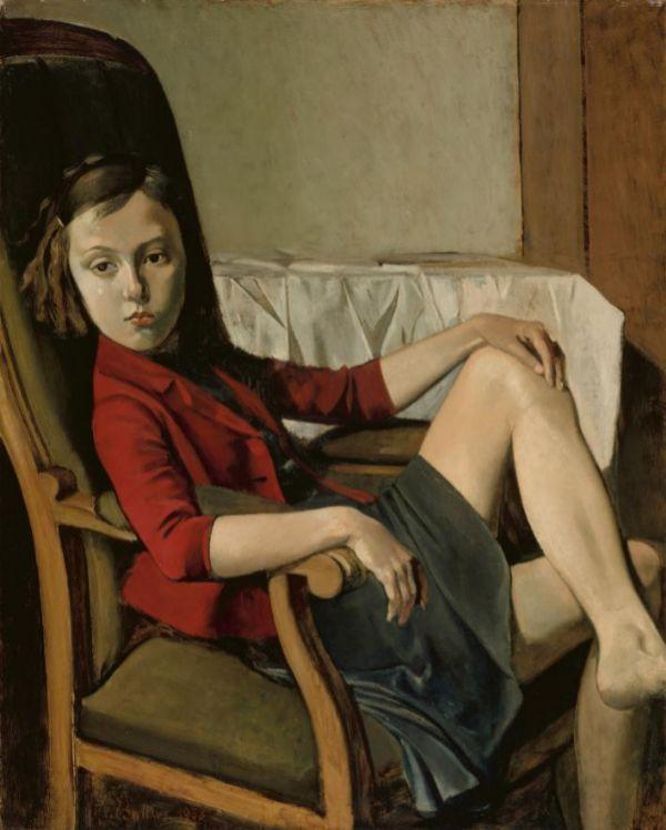 Thérèse, 1938, por Balthus.