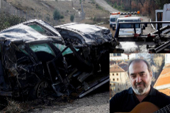 Muere el cantante y actor Patxi Andión  en un accidente  en Soria con su coche