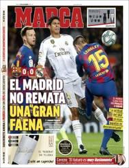 Las portadas de los periódicos deportivos del 19 de diciembre