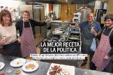 La portada del Diario Vasco del 24 de diciembre de 2018 que reunía en una sociedad gastronómica a Idioa Mendia y Arnaldo Otegi.