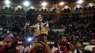 Doblete de Roca Rey en el debut de Casa Toreros en Bogotá