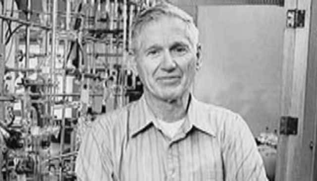 Charles D. Keeling, en su laboratorio en Scripps Institution of Oceanography.