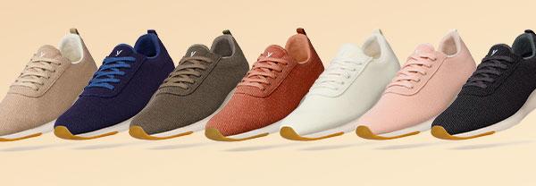 Las zapatillas españolas más cómodas y sostenibles para