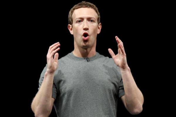 Mark Zuckerberg, fundador de Facebook, en el Mobile World Congress...