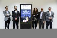 Carlos Madrona, Melchor de Palau, Rita Maugueri, Andrea Fiorentino y  Marc Nieto