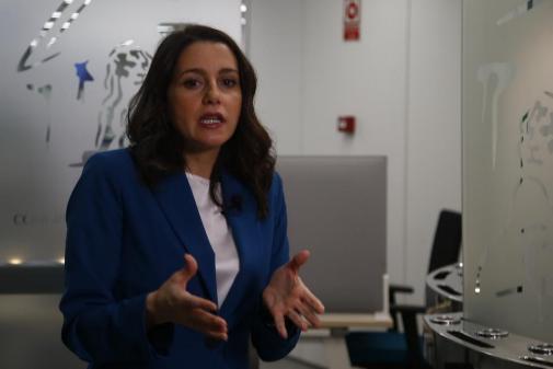 Inés Arrimadas, portavoz de Ciudadanos en el Congreso.