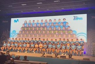 Despega el nuevo Movistar: todo para Mas, galones para Soler y Tokio para Valverde